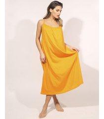 vestido naranja prussia berttina