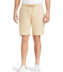 tallia men's slim fit solid drawstring shorts and a free face mask