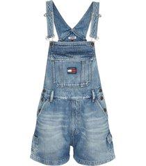 jardinera dungaree svltr azul tommy jeans