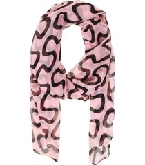 pashmina laberinto rosa fight for your right