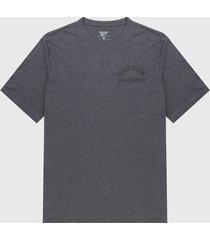 camiseta gris-negro reebok weightlifting