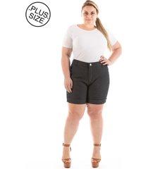 short jeans plus size - confidencial extra casual puebla