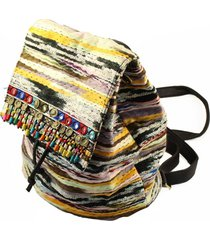 mochila multicolor almacén de paris