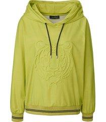 sweatshirt lange raglanmouwen van looxent groen