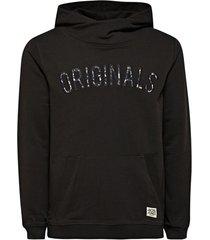 jack & jones zwarte sweater hoodie