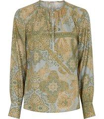 emi stretch blouse 40611