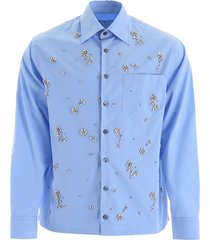 prada shirt with crystals
