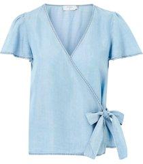 omlottblus crfalusa wrap blouse
