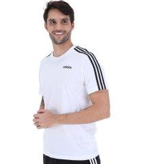 camiseta adidas 3s tee - masculina - branco