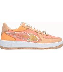 enterprise japan sneakers low colore rosa