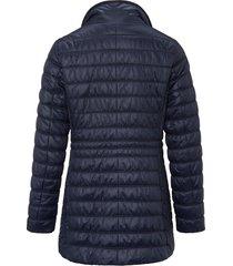 doorgestikte jas met staande kraag van fuchs & schmitt blauw
