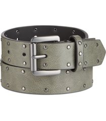 inc men's flat strap flay belt, created for macy's