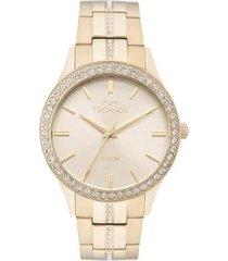 relógio feminino technos elegance crystal 2035mmk