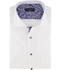 eterna overhemd korte mouwen wit comfort fit