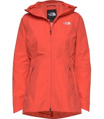 w hikesteller parka shell jacket - eu outerwear sport jackets röd the north face