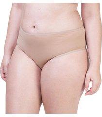 calcinha alta cotton nude - 522.022 marcyn lingerie alta multicolorido