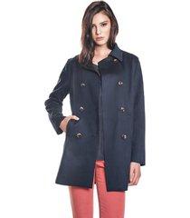 casaco iozi navy azul