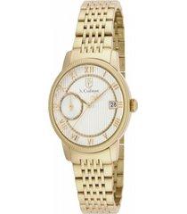 reloj s.coifman sc0338 dorado acero inoxidable