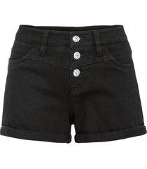 shorts di jeans (nero) - bodyflirt