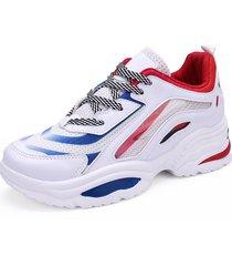 zapatos deportivos con plataforma casual