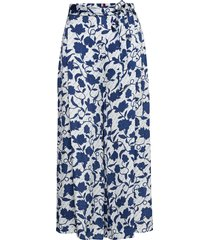 pandora culotte knälång kjol blå tommy hilfiger