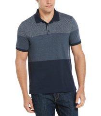 men's blocked short sleeve polo shirt