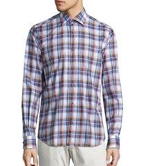 collection madras plaid shirt