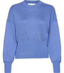 yasmineiw firm pullover gebreide trui blauw inwear