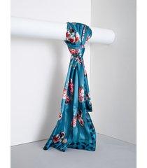 rinascimento foulard animalier e fiori