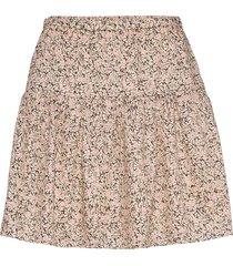 wing short skirt kort kjol nude second female