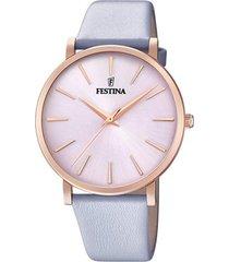 reloj boyfriend collection lila festina