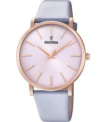 reloj boyfriend collection lila festina