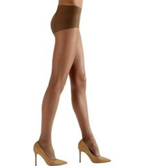 natori women's shimmer sheer tights hosiery, 2 pack