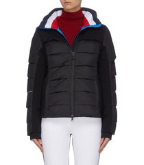 'surfusion' tricolour puffer jacket