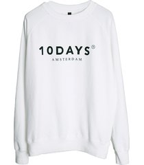 10 days sweatshirt 21-811 wit