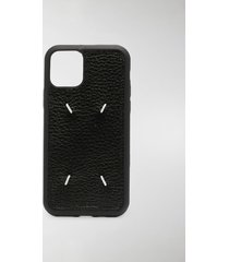 maison margiela four-stitch iphone 11 pro case