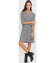 vestido gris asterisco hellyeah