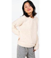 caelynn wubby sweater - ivory