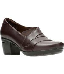 clarks collection women's emslie warbler leather shooties women's shoes