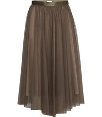 flawless skirt knälång kjol grön ida sjöstedt