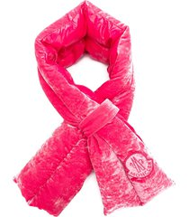 moncler structured scarf - pink