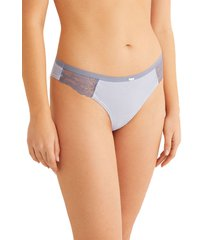 pantie de algodón estampado a rayas multicolor women secret 466777815xl