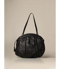 rodo shoulder bag rodo oval bag in genuine crocodile print leather