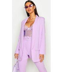 tailored blazer, lilac