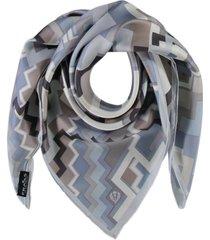women's digital graphic square scarf