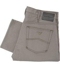 emporio armani grey j21 chino jeans 8n1j21