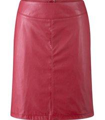 gonna in similpelle (rosso) - john baner jeanswear