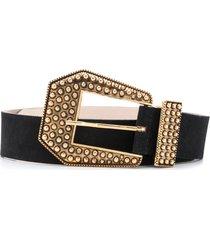 b-low the belt stud-embellished leather belt - black