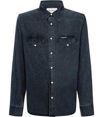 overhemd lange mouw calvin klein jeans j30j314390