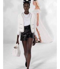 black sequin short shorts
